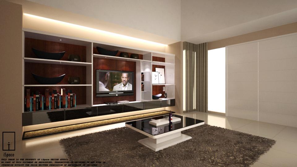 interior rumah tinggal ispace